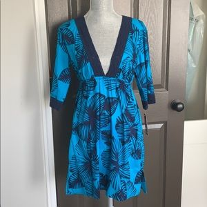 NWT Merona Small dress/cover up with lace detail